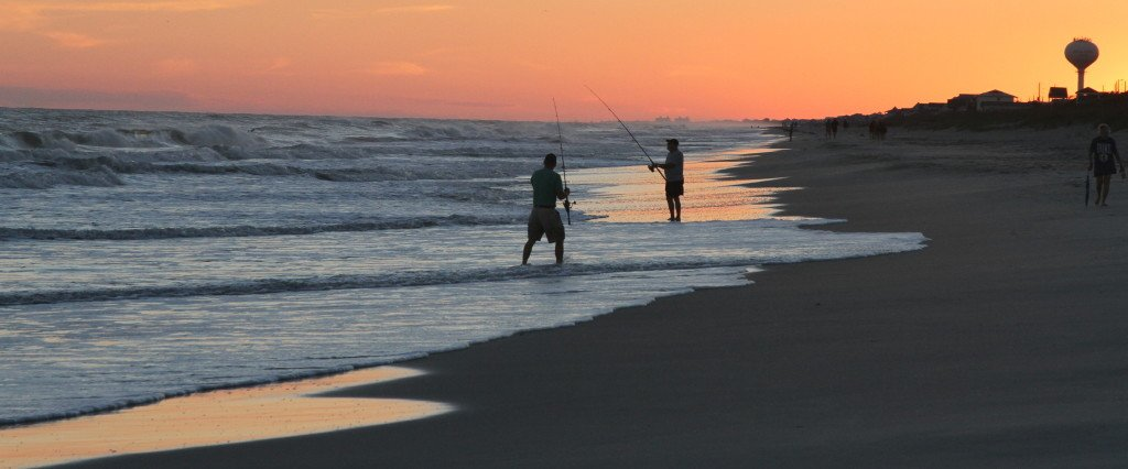 Carteret county chamber of commerce at the beach where for Surf fishing at night
