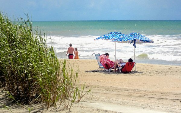 "Relax. When you're here, you're on ""Beach Time."" (Photo by Carolyn Temple, Coastal Image Photography)"