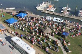 More than 600 people attended the Alive at Five outdoor concert on the Morehead City waterfront on May 22, which was a fundraising effort by Connect Carteret. (Photo by Cheryl Mansfield)