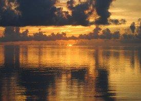 DW Sunrise at Cedar Island