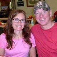 Coast Guard Senior Chief Storekeeper Tim Crothers and Angela Crothers, both of Yakima, Wash.